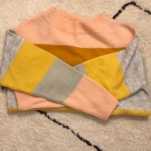 H&M Colorful Striped Sweater